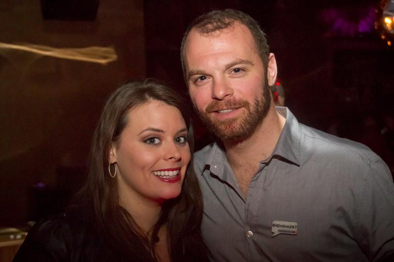 Laura and Matt