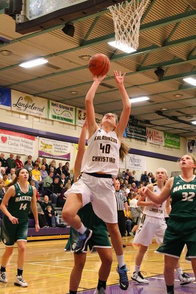 Basketball Girls Varsity vs. Hackett - KCHS - 1/12/18