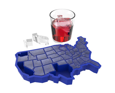 USA Ice Cube Tray. Gifts for Foodies and Cooks