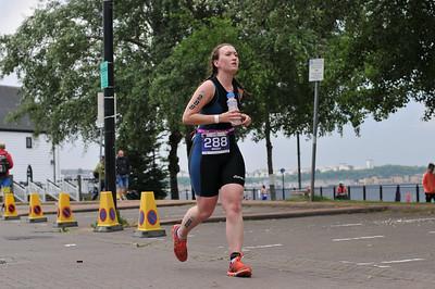 Cardiff Triathlon - Olympic Women Run 9-28 to 10-20