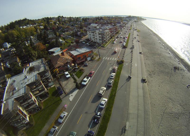 Alki Beach April 2010