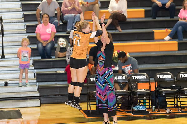 Caldwell Varsity Volleyball v Smithville Pre-game