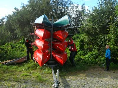 Oppstartstur for 1.-4. trinn i Åstveitskogen