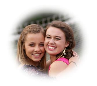 2011 Oakwood Varsity Girls vs Homecoming - The Girls Win Big!