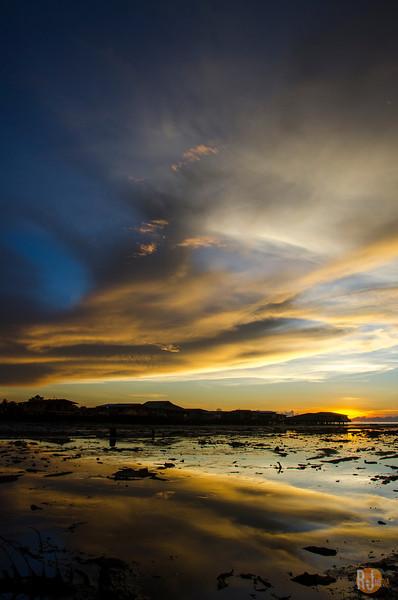 May 16, 2014 Sunset Kota Kinabalu, Sabah, Borneo