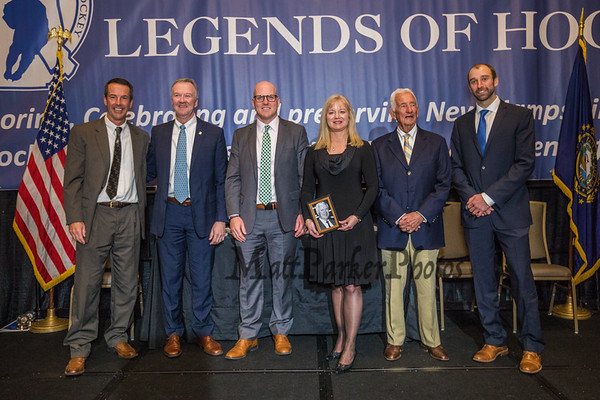 2018-10-21 NH Legends of Hockey Induction Ceremony