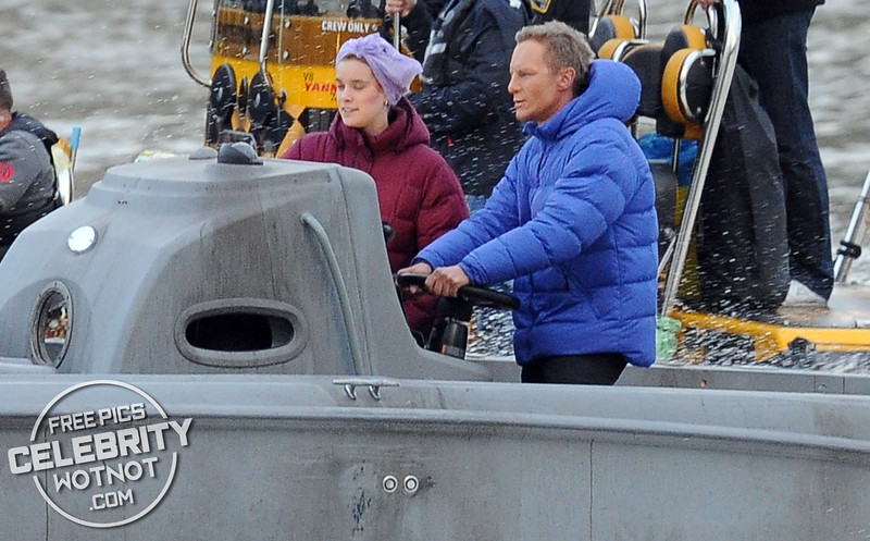 James Bond Films High Speed Boat Chase On Thames For SPECTRE in London