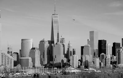 Lower Manhattan Skyline Dec. 27, 2014 Taken with an Olympus E-M1
