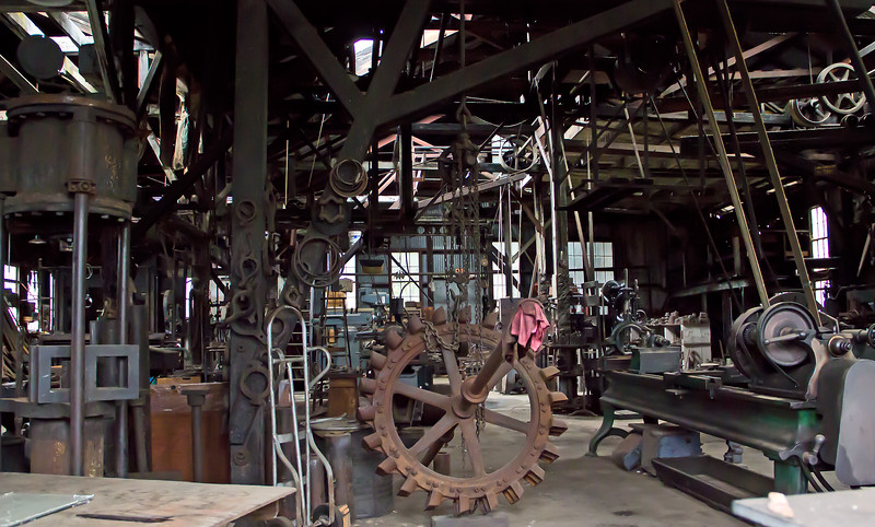 Old foundry in Sutter Creek