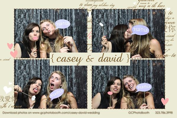 David and Casey's Wedding