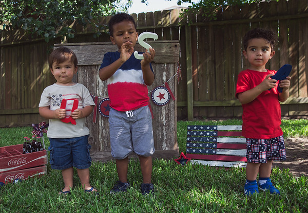 Nephew's Fourth of July Session - June 2018