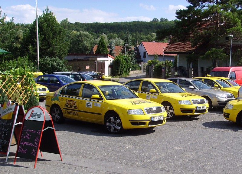 Taxis in Prague