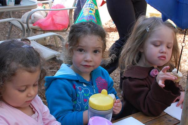 Avie's 3rd Birthday at School