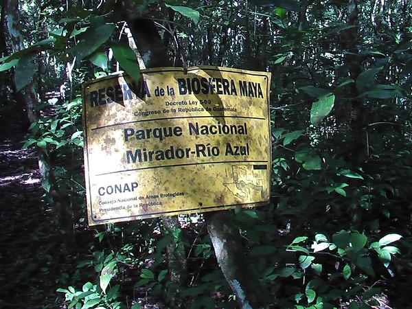 El Mirador, Peten, Guatemala - December 2007