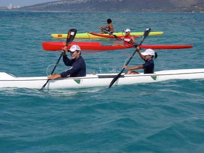 2010 Hoe Wa'a Mau OC1 & Kayak Race 3-21-2010