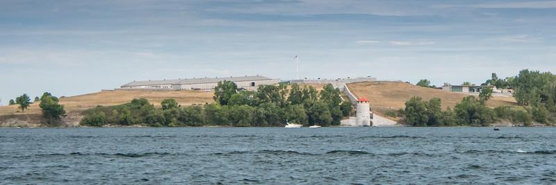 Fort Henry across from Kingston