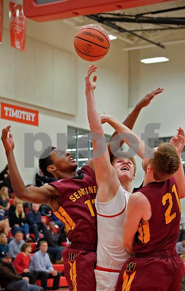 Timothy Christian vs Westmont boys basketball