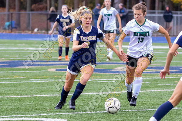 Foxboro-Dartmouth Girls Soccer - 11-07-19