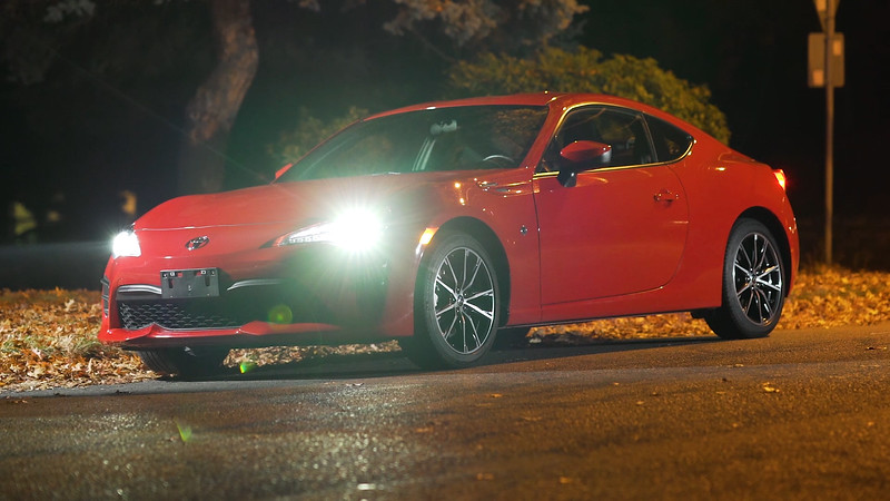 2017 Toyota 86 Parked Reel