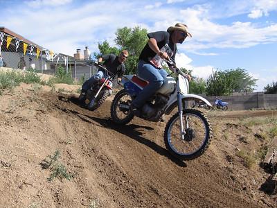 4th of July Mini-Bike Racing @ Robert Vasquez' House  7-4-08