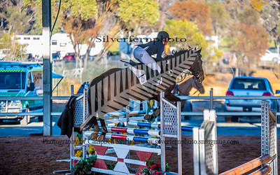 Class 18a 115  and 18b Saddles Plus Young Masters Junior Jumper