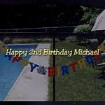 Happy 2nd Birthday Michael