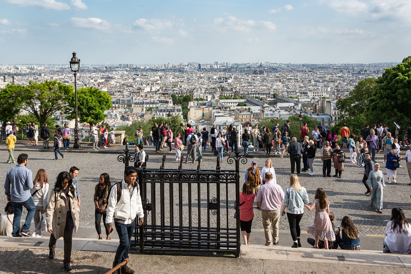 Looking south from Montmartre