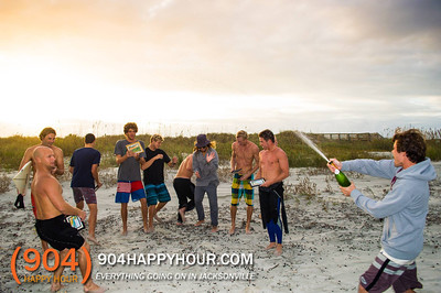NSSA Surf Competition in New Smyrna Beach