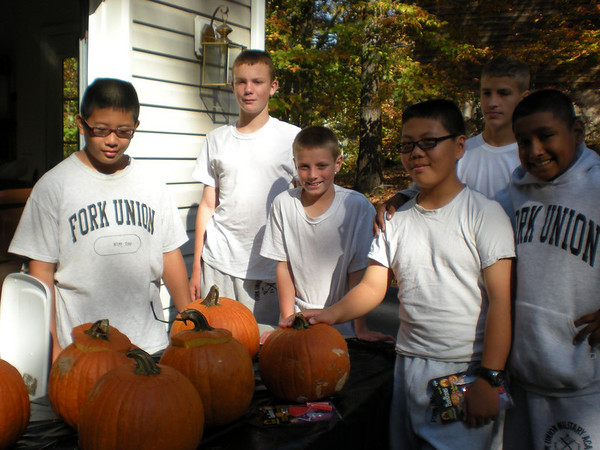 International Cadets Halloween Field Trip