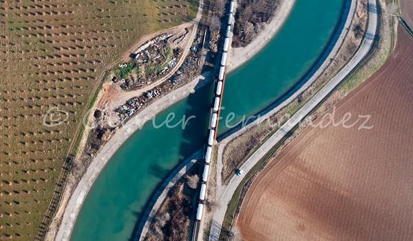 Centrales EDF & Canal - Manosque-Volx