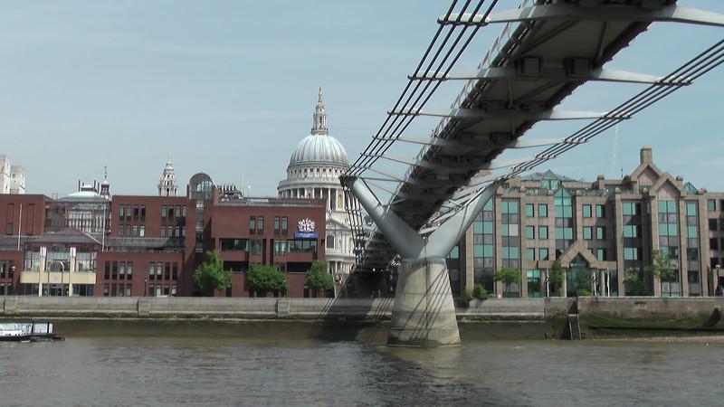 St. Paul's Cathedral and Millenium Bridge