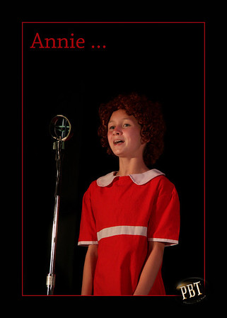 A School Production of Annie JR