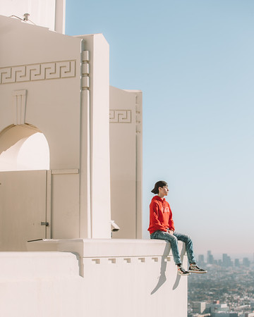 Luke in LA