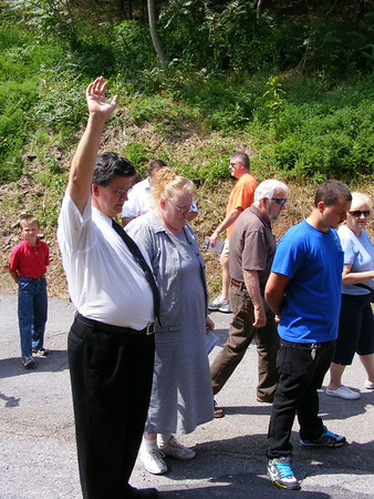 Prayer Walk Justice Center 500 participants,  Spring, 2012