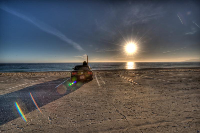 Sunset @ Zuma Beach! Scenic HDR Landscapes of Malibu Shot with the Nikon D3X