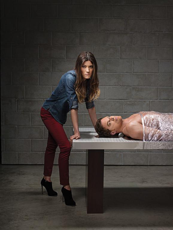 . Jennifer Carpenter as Debra Morgan and Michael C. Hall as Dexter Morgan (Season 8) - Photo: Jim Fiscus/SHOWTIME