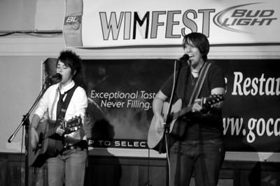 Amanda Lucas n Audrey Cecil at Wimfest