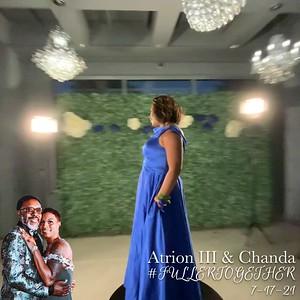 Atrion III & Chanda (360 Photo Booth)