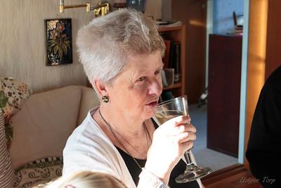Aasa Björgheim Abildgaard 80 år.