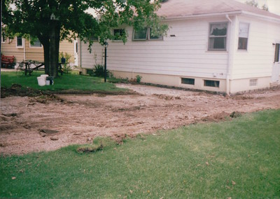 1998-06 New Driveway and Patio