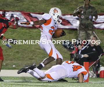 La Porte Varsity Football vs North Shore 10/22/2011
