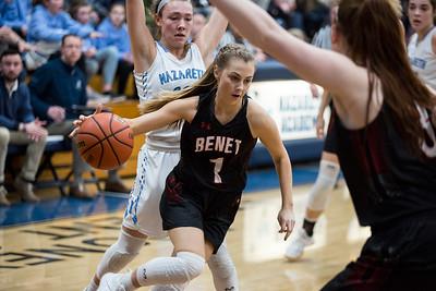Benet vs. Nazareth Girls Basketball