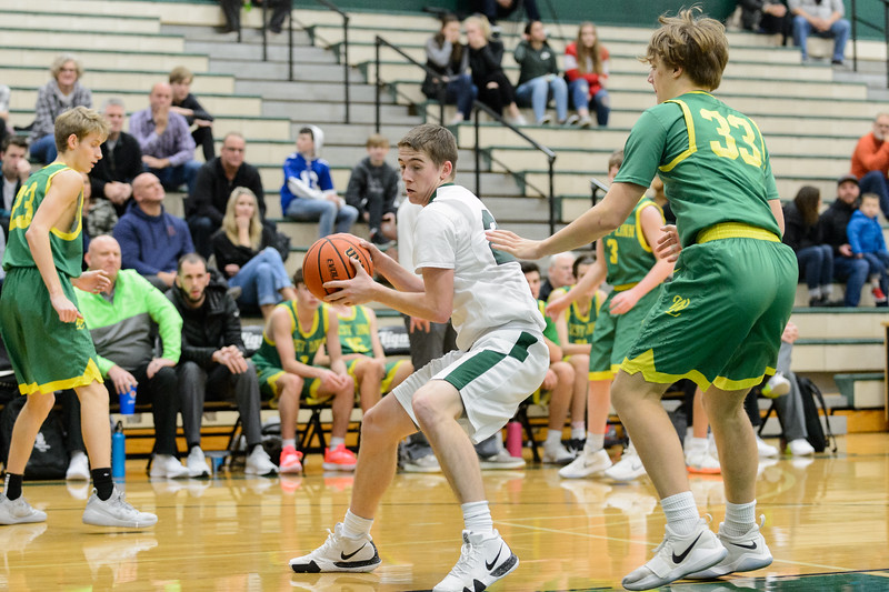 THS Boys JV Basketball vs West Linn