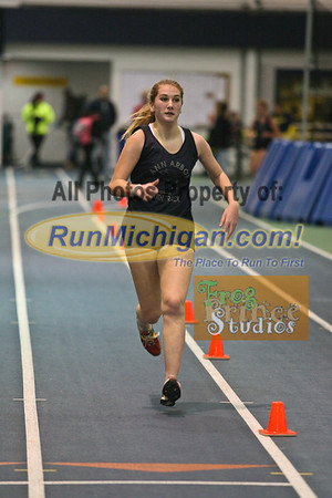 1600M Girls - January 23 MITS Meet at UM