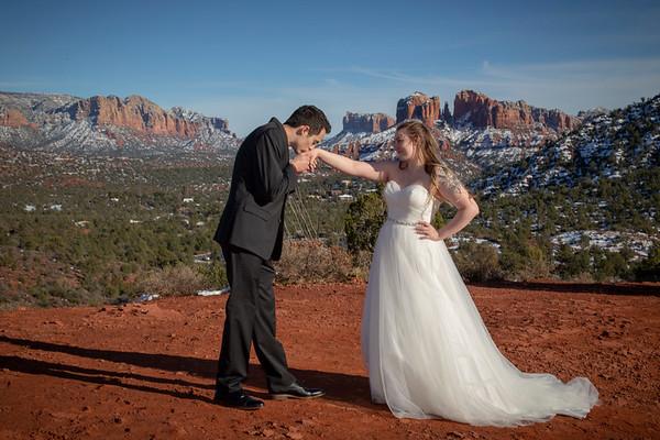 Jacob & Katie's Sedona Wedding