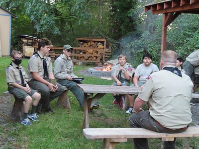 Troop Meeting - Oct 5