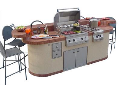Prefab Outdoor Kitchen Kits