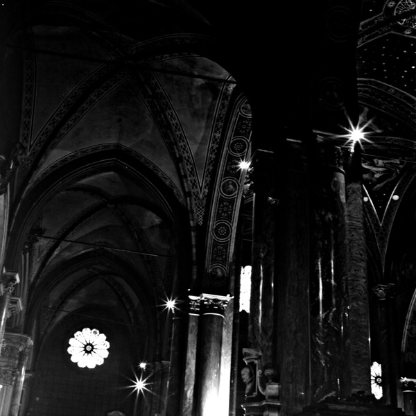 Cathedral in Rome  4:Italy beyond 70mm. Photographs taken on 80mm (Medium format film)