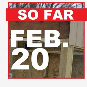 20 FEBRUARY (so far)