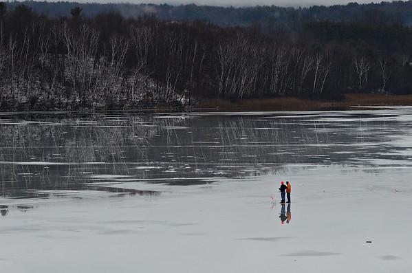Lake Paran Ice Fishing - 011021